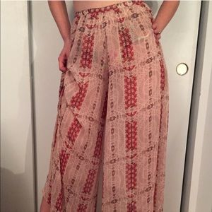 Urban Outfitters High Waisted Flowy Pants